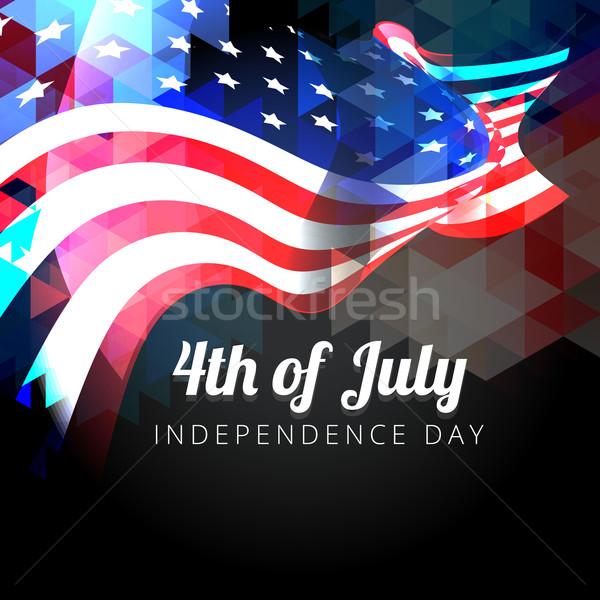 商业照片: 美国国旗 · 设计 · 抽象 · 明星 · 自由