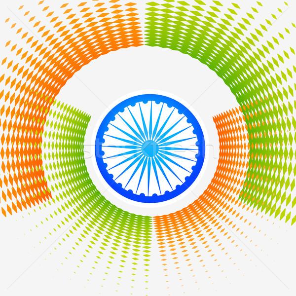 creative halftone indian background Stock photo © Pinnacleanimates