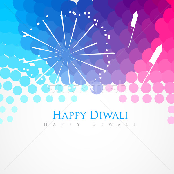 happy diwali greeting Stock photo © Pinnacleanimates