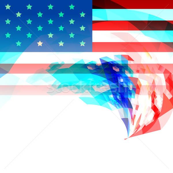 creative 4th of july america background Stock photo © Pinnacleanimates