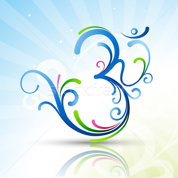 beautiful om symbol Stock photo © Pinnacleanimates