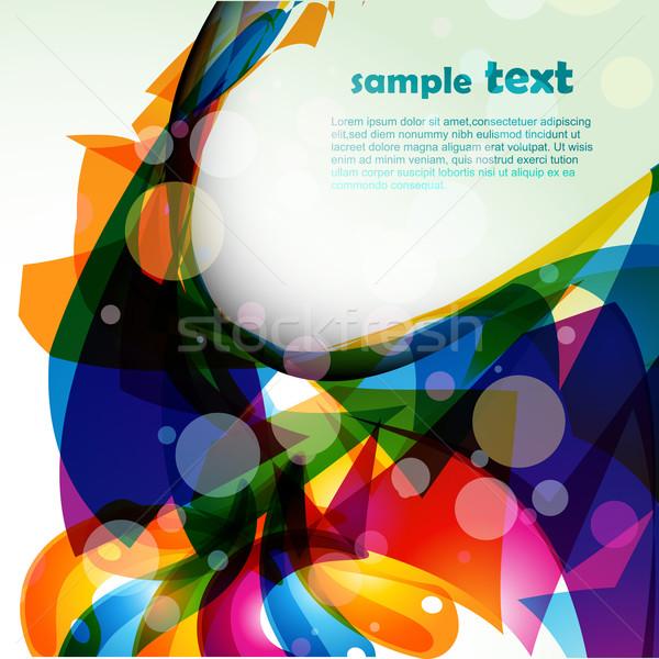abstarct eps10 design Stock photo © Pinnacleanimates