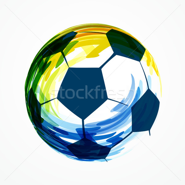 creative football design Stock photo © Pinnacleanimates