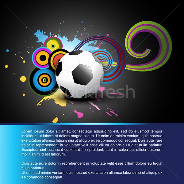 abstract football Stock photo © Pinnacleanimates