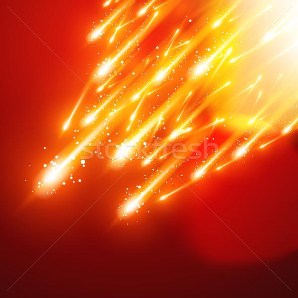 shiny sparkles Stock photo © Pinnacleanimates