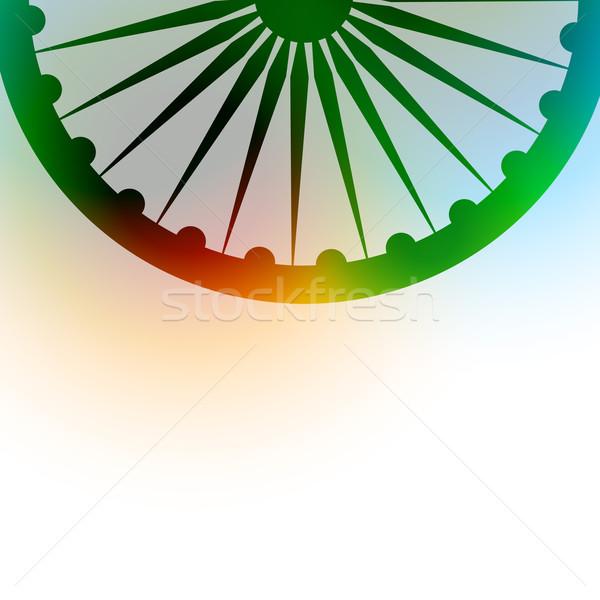 indian flag background Stock photo © Pinnacleanimates