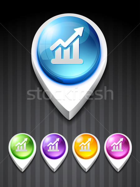 growth bar Stock photo © Pinnacleanimates