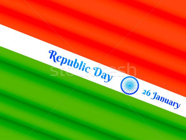 republic day of india Stock photo © Pinnacleanimates
