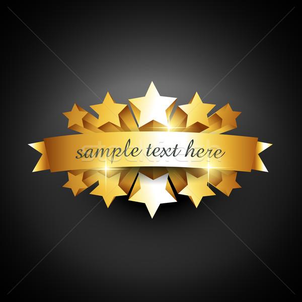 beautiful label sign Stock photo © Pinnacleanimates