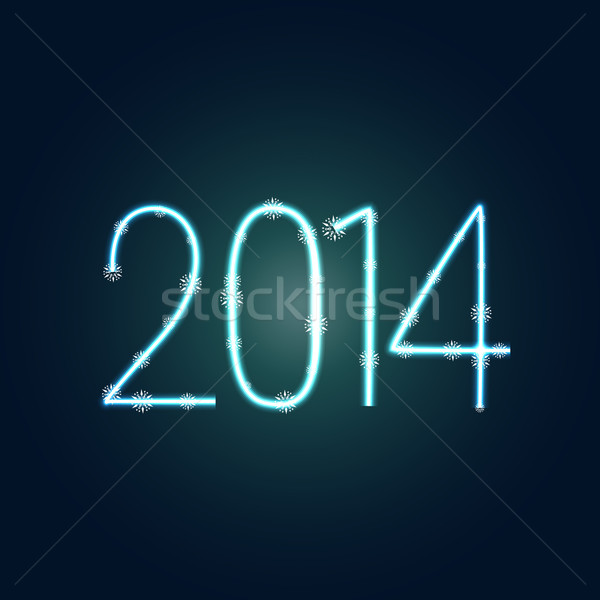 creative new year background Stock photo © Pinnacleanimates