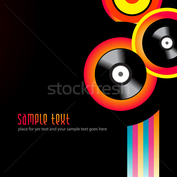 vector music background Stock photo © Pinnacleanimates