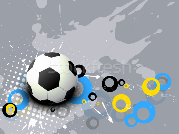 football vector Stock photo © Pinnacleanimates