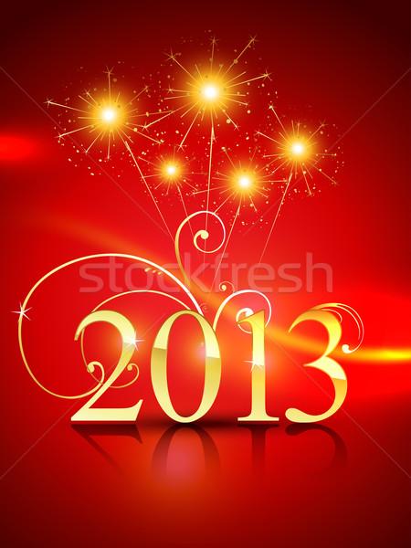 happy new year design Stock photo © Pinnacleanimates
