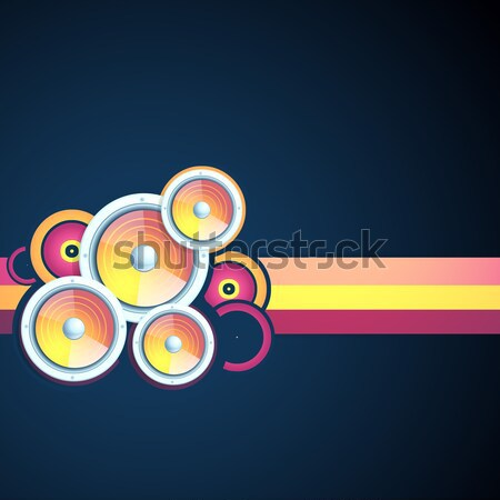 funky vector Stock photo © Pinnacleanimates