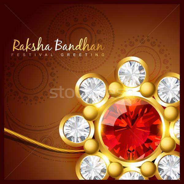 raksha bandhan festival design Stock photo © Pinnacleanimates