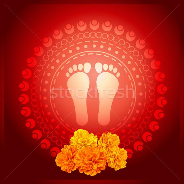 gor foot print Stock photo © Pinnacleanimates