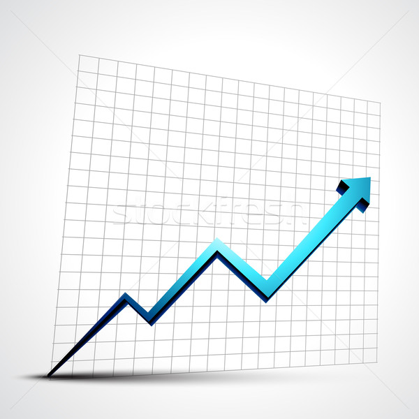 growth progress arrow Stock photo © Pinnacleanimates