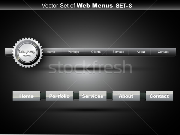 website menu Stock photo © Pinnacleanimates