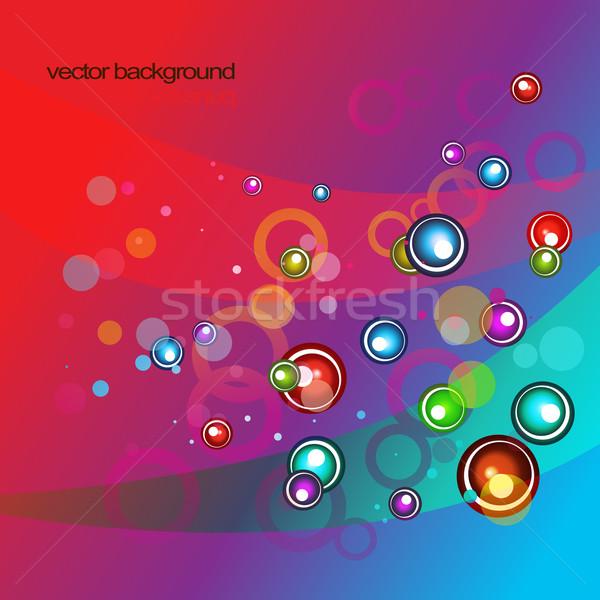 vector pink style eps10 design Stock photo © Pinnacleanimates