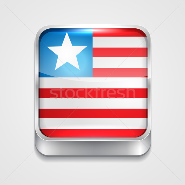 flag of liberia Stock photo © Pinnacleanimates