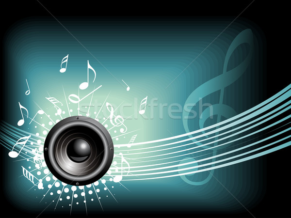 Stockfoto: Muziek · vector · ruimte · tekst · abstract · ontwerp