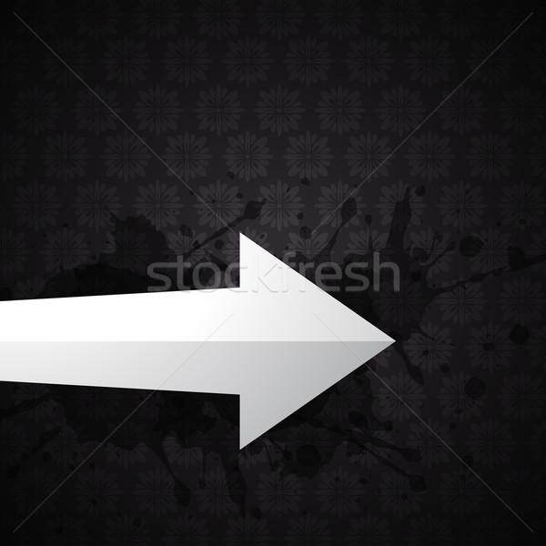vector arrow Stock photo © Pinnacleanimates