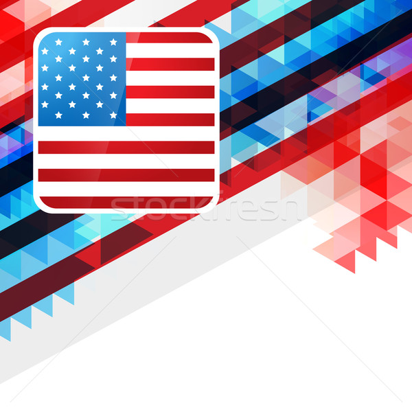 4th of july design Stock photo © Pinnacleanimates