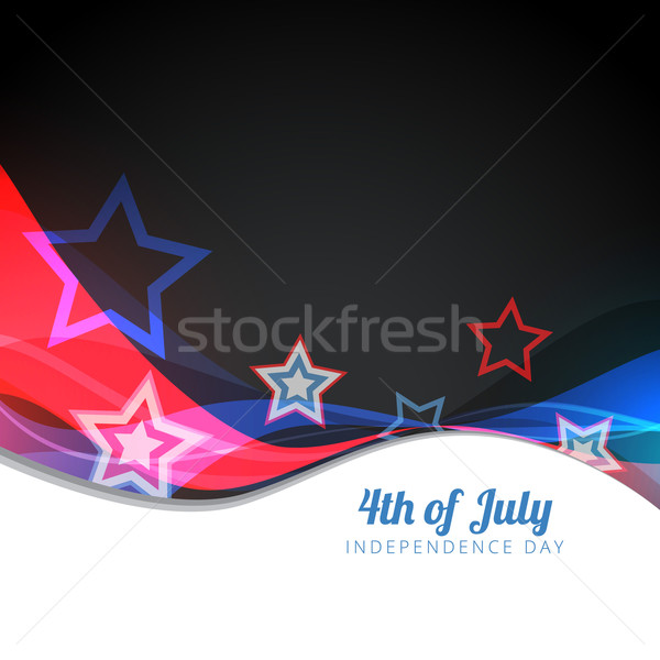 vector 4th of july design Stock photo © Pinnacleanimates