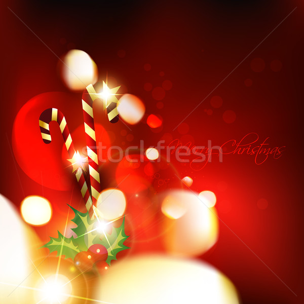 Christmas vector ontwerp illustratie kunst star Stockfoto © Pinnacleanimates