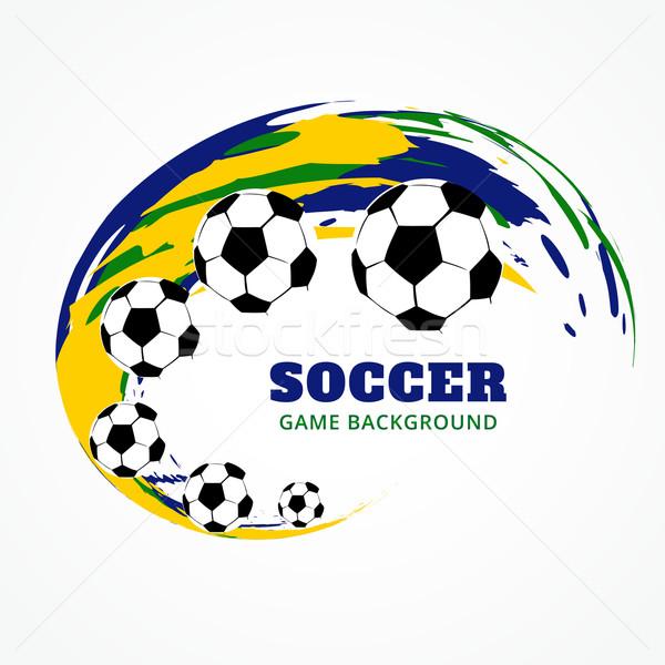 creative football design Stock photo © Pinnacleanimates