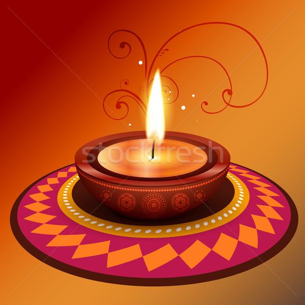Stock photo: vector diwali design