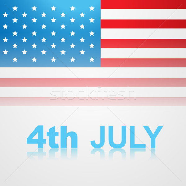 4th of july american independence day Stock photo © Pinnacleanimates