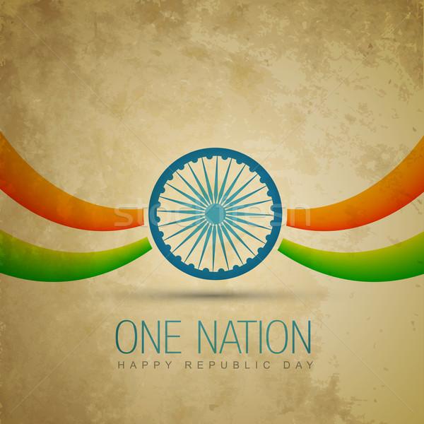 indian flag Stock photo © Pinnacleanimates