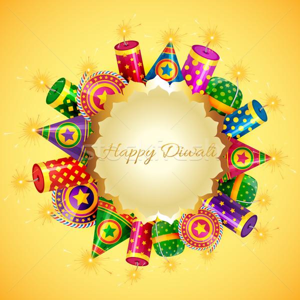 Happy diwali card Stock photo © Pinnacleanimates