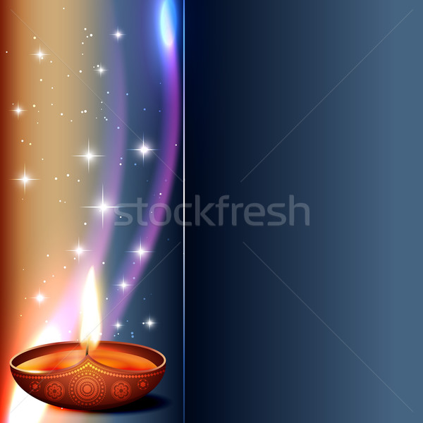 vector diwali diya Stock photo © Pinnacleanimates