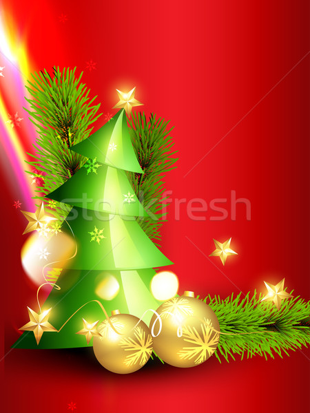 beautiful christmas design Stock photo © Pinnacleanimates