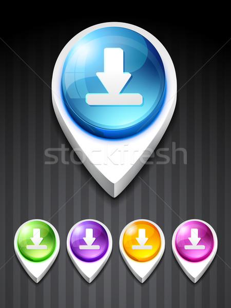 download icon Stock photo © Pinnacleanimates