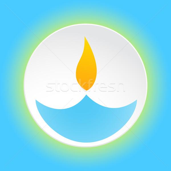 diwali festival design Stock photo © Pinnacleanimates
