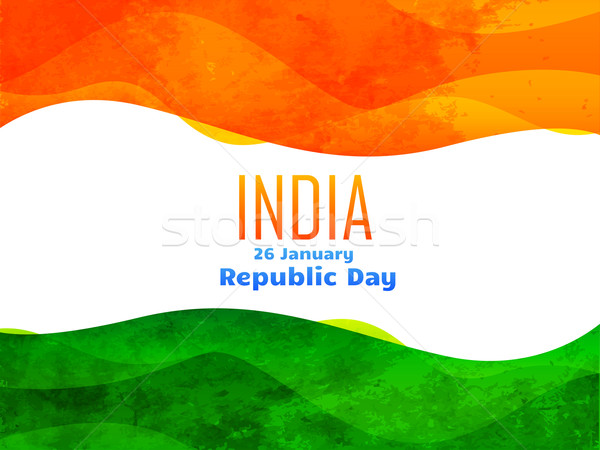 indian republic day design made with texture Stock photo © Pinnacleanimates