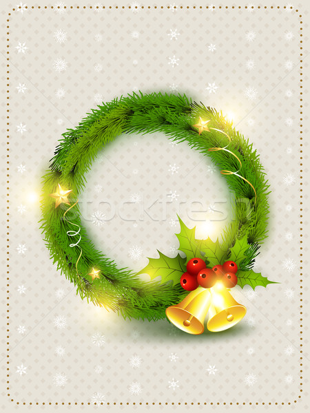 Christmas mooie vector ontwerp kunst Stockfoto © Pinnacleanimates