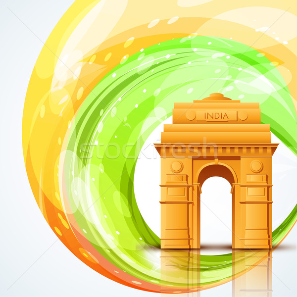 india gate Stock photo © Pinnacleanimates