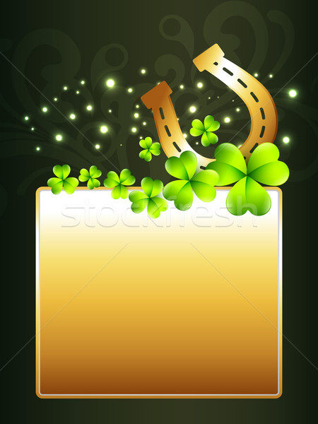 beautiful st patrick's day design Stock photo © Pinnacleanimates
