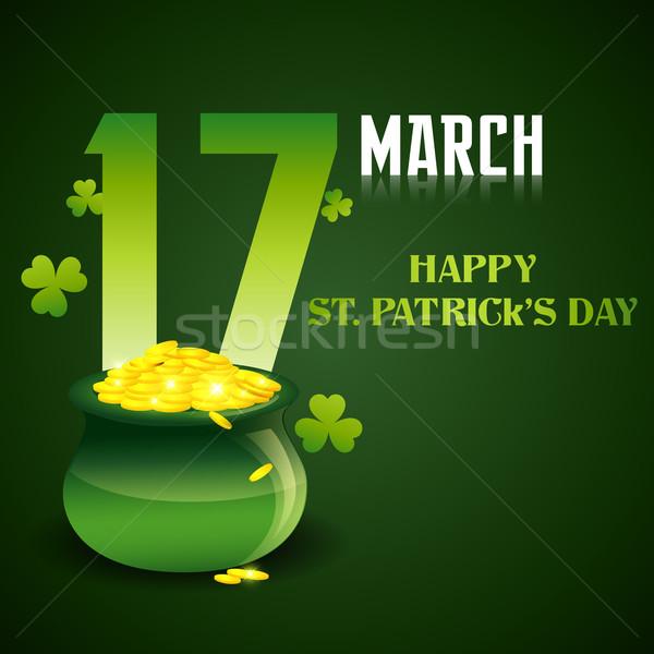 Dag illustratie vector St Patrick's Day ontwerp Stockfoto © Pinnacleanimates