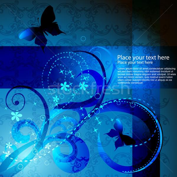 vector butterfly artwork Stock photo © Pinnacleanimates