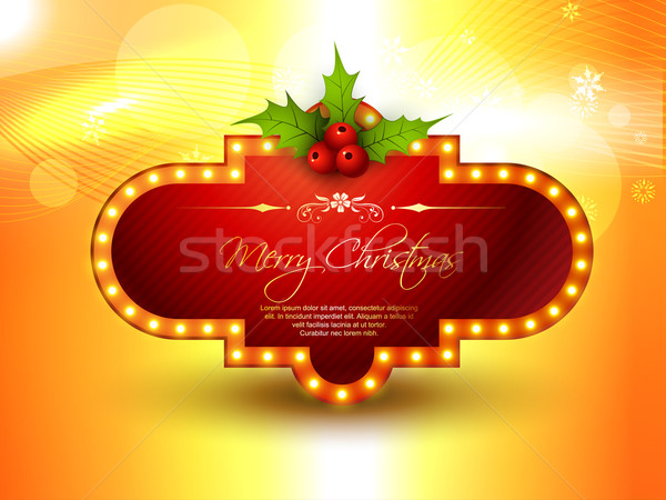 merry christmas Stock photo © Pinnacleanimates