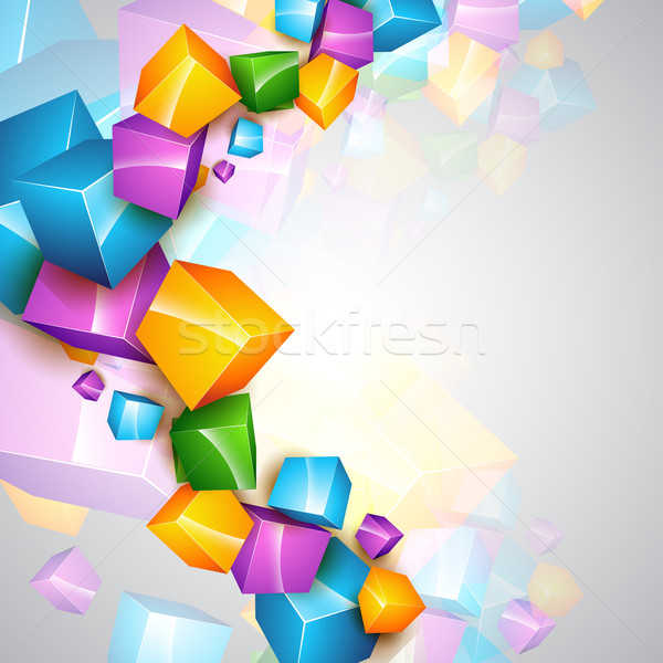 vector colorful template vector illustration pinnacle animates