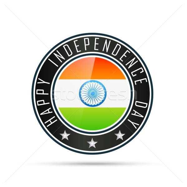 indian flag label Stock photo © Pinnacleanimates