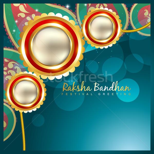 indian rakshabandhan background Stock photo © Pinnacleanimates