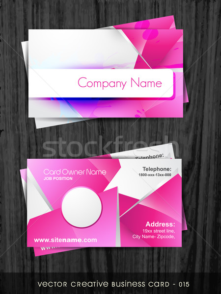 funky business card Stock photo © Pinnacleanimates
