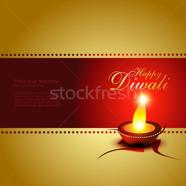 Stock photo: diwali festival